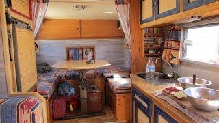 Wildnisfamilie - Wohnmobil einer Großfamilie
