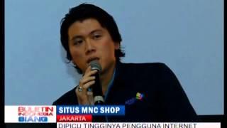 Buletin Indonesia Siang Global TV - Peluncuran Situs Belanja MNC Shop