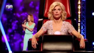 Mix - Aliona Munteanu - Halo (Beyonce) - Vocea Romaniei 2014 - Auditii pe nevazute Ep. 3