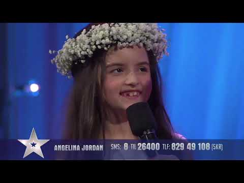 Angelina Jordan amazing performance in the semi final (part 5) (Must watch) with English subtitle