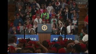 FNN: President Trump holds MAGA rally in IN; SpaceX scraps launch