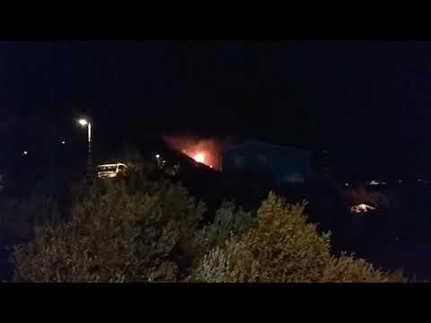 Pożar Chorwacja Pisak Marusici