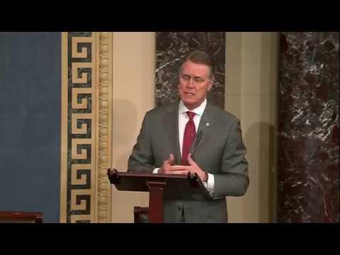 Senator David Perdue Speaks On Senate Floor