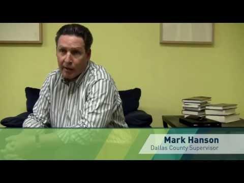 Interview with Mark Hanson, Dallas County Supervisor