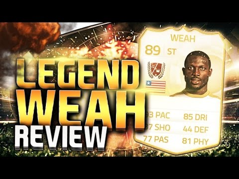 [Bình Be] Review George Weah - Legend FIFA Online 3