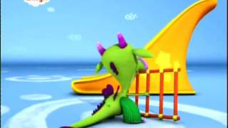 BabyTV Draco a slide and a lader english