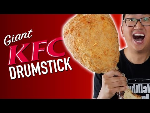 Thumbnail: DIY GIANT KFC DRUMSTICK *DO NOT ATTEMPT*
