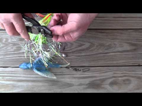 How To Rig A Soft Trolling Bird And Chase Lure Combo