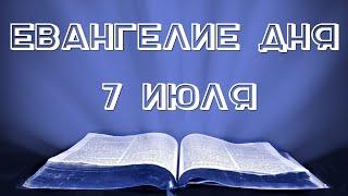 Евангелие дня. 07 июля 2020