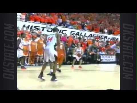 #8 Oklahoma State vs. #10 Texas - 2004 Basketball Highlights