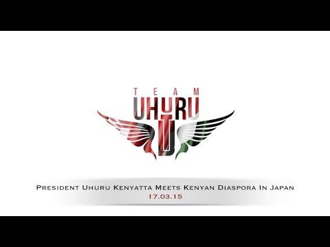 President Uhuru Kenyatta Meets Kenyan Diaspora In Japan #TeamUhuru