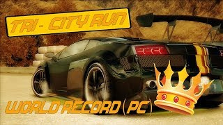 [GAMEPLAY] NFS UNDERCOVER TRI-CITY RUN WORLD RECORD (PC)