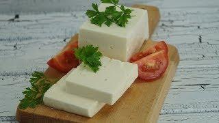 Ev Yapimi Beyaz Peynir Tarifi (Selbstgemachter Käse Rezept)
