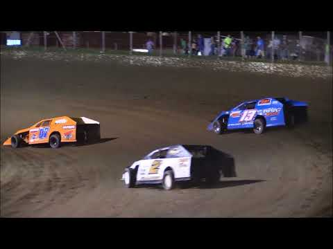 Modified B-Main #2 from Portsmouth Raceway Park, August 18th, 2018.