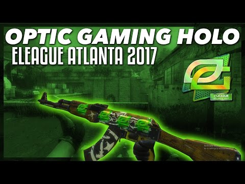 OpTic Gaming ELEAGUE Major Atlanta 2017 [Holo] Sticker | In-Game Showcase!