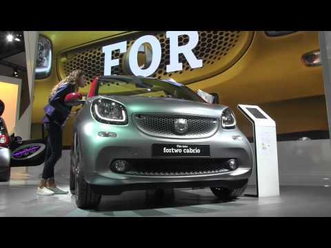 Cars star at the 2015 IAA Frankfurt car show
