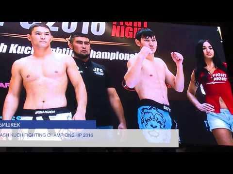 MMA JFC Fight Night Bishkek 2016