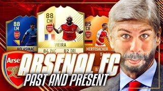 PAST AND PRESENT ARSENAL - WHAT EVEN IS THIS TEAM?!?! - FIFA 17 Ultimate Team