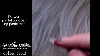 How to draw fur with pastelpencils - Samantha Dekker - Derwent Colourstock - Adelio Deco