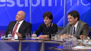 Question Time in Dover - Bob Crow On Immigration & Border Control  07/03/2013