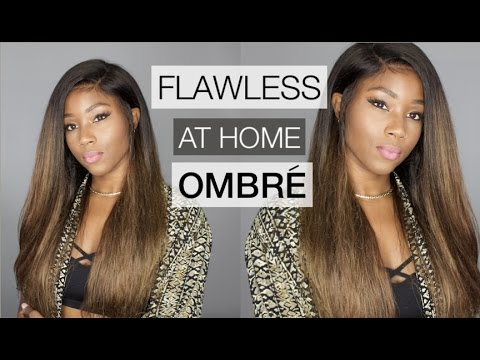 HOW TO MAKE YOUR LACE WIG LOOK PERFECT + THE BEST TECHNIQUE FOR HIGHLIGHTING YOUR HAIR AT HOME