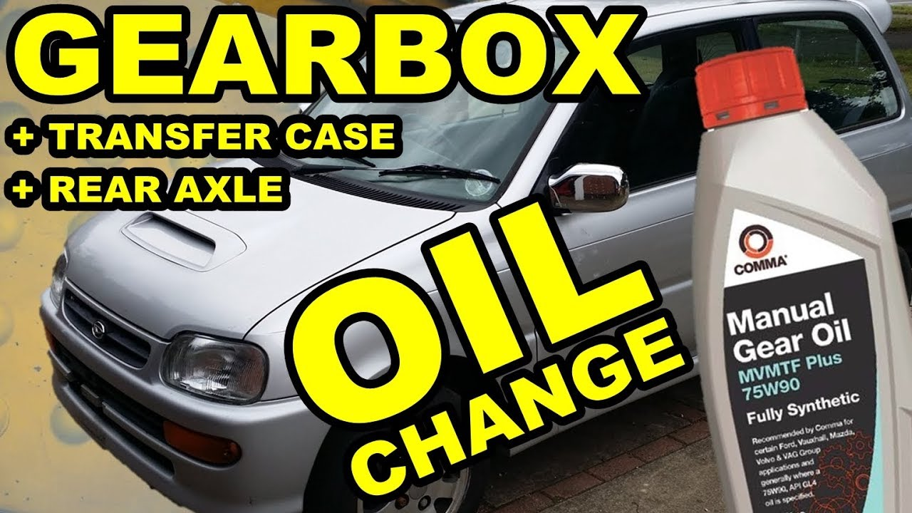 How To Change Gearbox Oil - Daihatsu Cuore & Mira L512S - Avanzato TR-XX R4  Project Episode 6