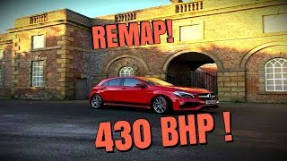 ♛  REMAPPING THE MERCEDES A45 AMG 430BHP ||| ICY LAUNCHES AND GAWPING CITIZENS