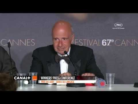 Cannes 2014 - GOODBYE TO LANGUAGE : Shortest Press Conference for the Jury Prize
