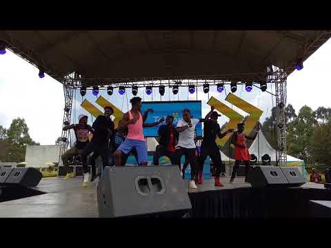 Eldoret Dancers at Telkom Eldoret Edition