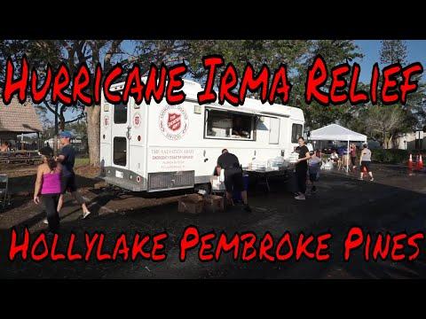 Hurricane Irma Relief Hollylake Pembroke Pines Florida