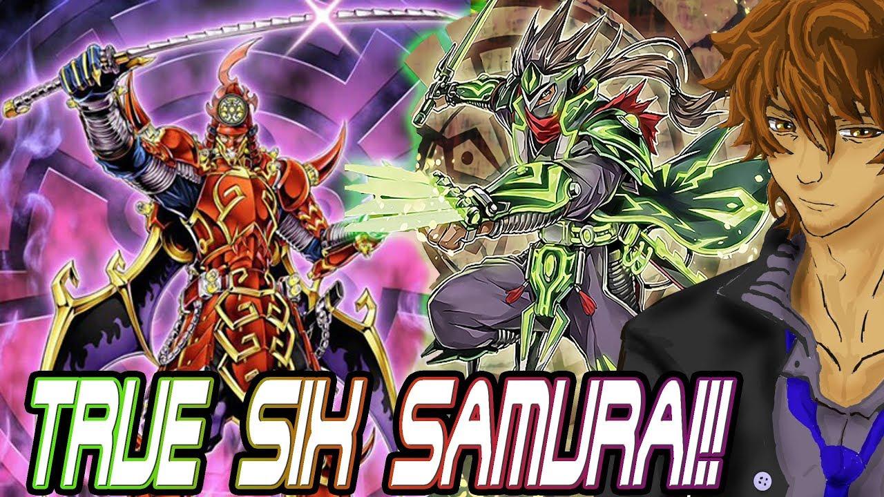 BEST SIX SAMURAI SHI EN OTK CONTROL DECK! | YuGiOh Duel Links