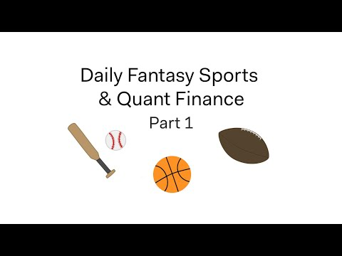 Repeat Creating a Daily Fantasy Sports Algorithm Using