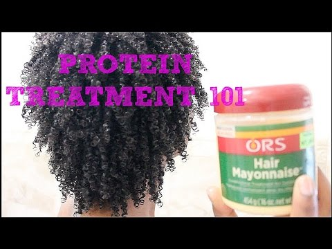 Protein Treatment 101 Demo Using Ors Hair Mayonnaise Must Watch