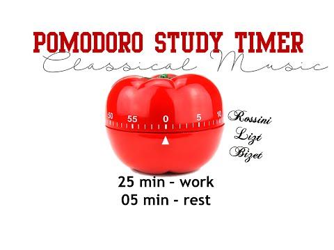 Pomodoro Study Timer - Classical Music