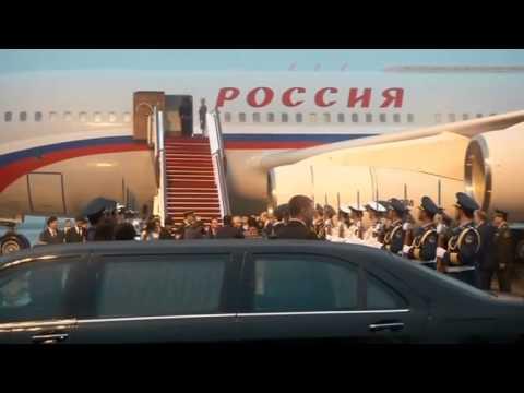 Putin arrives in Shanghai
