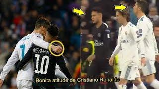 Cristiano Ronaldo & Neymar Jr #RESPECT Moments 2018