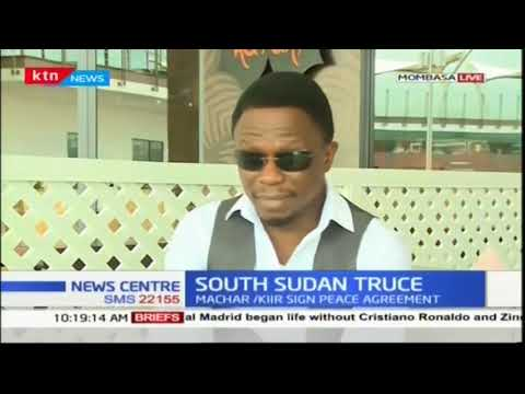 Foreign Affairs CAS Ababu Namwamba delves into the South Sudan issue