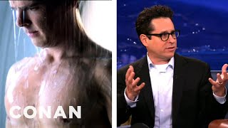 "Benedict Cumberbatch Deleted Shower Scene From ""Star Trek Into Darkness"" Scene - CONAN on TBS"