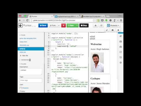 make custom reusable components with angularjs directives youtube