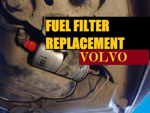 DIY. FUEL FILTER REPLACEMENT VOLVO (P2 chassis cars)