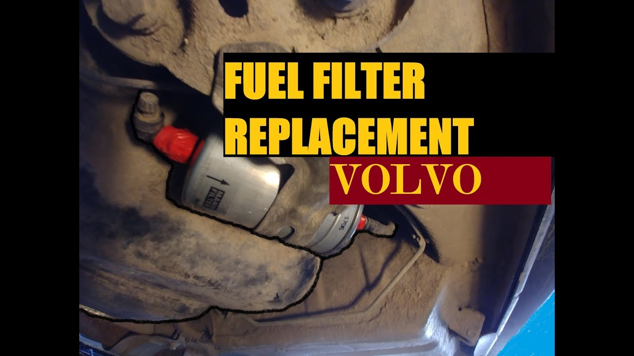DIY. FUEL FILTER REPLACEMENT VOLVO (P2 chassis cars) - YouTube | Volvo Fuel Filter Cross Reference |  | YouTube