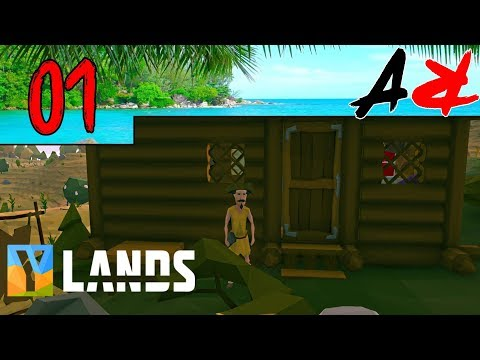 Ylands Ep1 - Great Start (Survival/Crafting/Exploration/Sand
