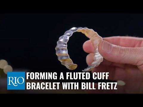 Forming a Fluted Cuff Bracelet with Bill Fretz