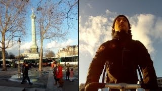 Paris by Bicycle #1 : Bastille and the River Seine