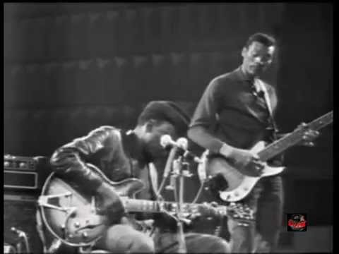 John Lee Hooker (w Carey Bell) - Shake It Baby & Satisfaction (Live France 1970)