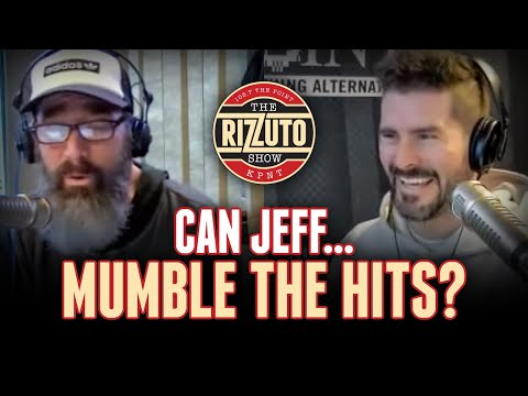 New Game! Can Jeff Mumble The Hits? [Rizzuto Show]