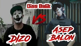 Download Mp3 Diss Balik Buat Dizo Dari Asep Balon - Pennywise ||  Music Video