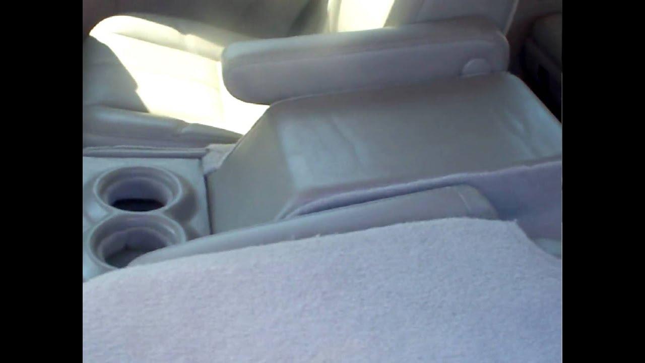 Console Chevrolet Tahoe Center Rear