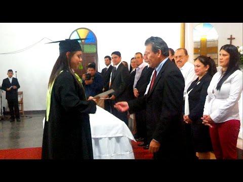 """Ceremonia de Egresados """"Técnico Superior de Informática"""" - Santa Rosa Misiones Paraguay"""