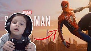 JOGANDO HOMEM ARANHA NO PS4 - SPIDER-MAN 2018
